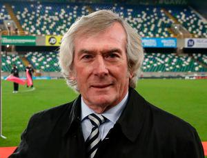 Northern Ireland legend Pat Jennings