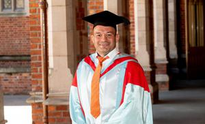 Ulster and Ireland Rugby captain Rory Best OBE was presented with an honorary doctorate at Queen's University Belfast for distinction in sport.