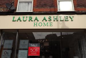 Fashion retailer Laura Ashley collapsed into administration in March (Yui Mok/PA)
