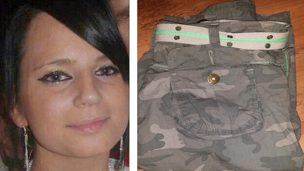 Karen Wisinska (28) from Co Fermanagh bought a pair of camouflage trousers from Primark for around £10