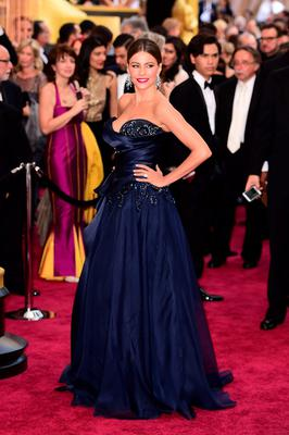Sofia Vergara arriving at the 88th Academy Awards held at the Dolby Theatre in Hollywood, Los Angeles, CA, USA.  Ian West/PA Wire