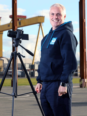 Peter Craven traded his comfortable executive role for a new direction in video marketing