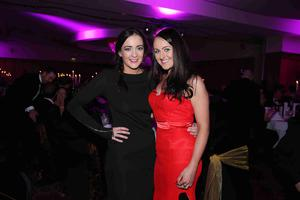 Press Eye - Belfast - Northern Ireland - 12th November 2014   Pub of the Year Awards  Gemma Bell and Danielle Baker   Picture by Kelvin Boyes / Press Eye.