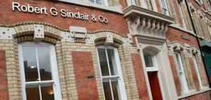 Robert G Sinclair & Co. solicitors' offices.