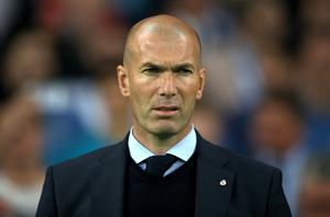 Zinedine Zidane is another favourite for the role (Nick Potts/PA)