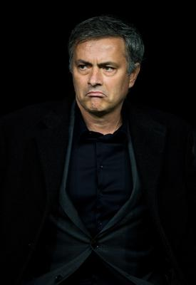 FILE - JUNE 02, 2013:  Jose Mourinho has been confirmed as Chelsea FC manager, returning to the club for a second term in charge, having left the club in 2007. MADRID, SPAIN - FEBRUARY 13: Head coach Jose Mourinho of Real Madrid looks on during the UEFA Champions League Round of 16 first leg match between Real Madrid and Manchester United at Estadio Santiago Bernabeu on February 13, 2013 in Madrid, Spain.  (Photo by Jasper Juinen/Getty Images)