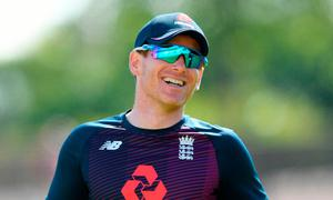 Driving on: Eoin Morgan wants to win more with England