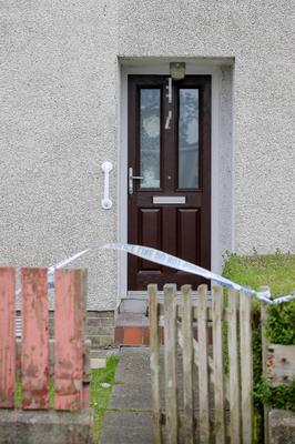 A house in the Danes Hill Road area of Coleraine where a woman and two men escaped injury as shots were fired at the house in the early hours of the morning.  Picture: Philip Magowan / PressEye