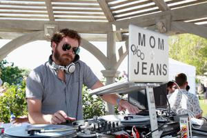 THERMAL, CA - APRIL 13:  DJ Mom Jeans aka Danny Masterson performs at LACOSTE L!VE Desert Pool Party In Celebration Of Coachella on April 13, 2013 in Thermal, California.  (Photo by Joe Scarnici/Getty Images for LACOSTE)