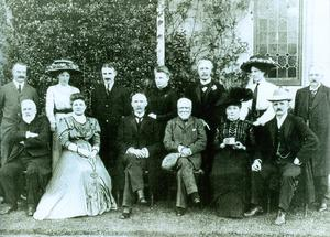 Andrew Carnegie at Cabin Hill