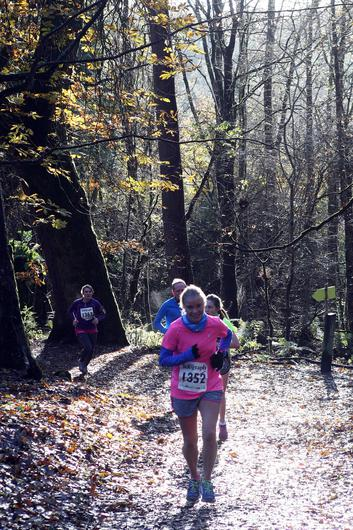 Mandatory Credit - Picture by Freddie Parkinson/Press Eye © Saturday 19th November 2016 Belfast Telegraph Run Forest Run Drum Manor Forest Park, Drum Road, Cookstown BT80 9RT Eileen Pollock