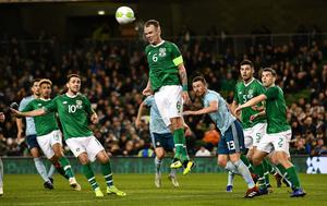 PACEMAKER BELFAST  15/11/18 Republic of Ireland v Northern Ireland International Friendly  Republic of Ireland's Glen Whelan  during this evenings game  at the Aviva Stadium in Dublin. Photo Colm Lenaghan/Pacemaker Press