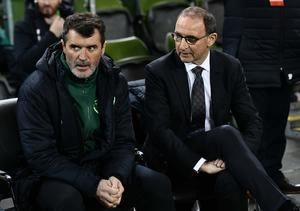 PACEMAKER BELFAST  15/11/18 Republic of Ireland v Northern Ireland International Friendly Roy Keane and Martin O'Neill   during this evenings game  at the Aviva Stadium in Dublin. Photo Colm Lenaghan/Pacemaker Press