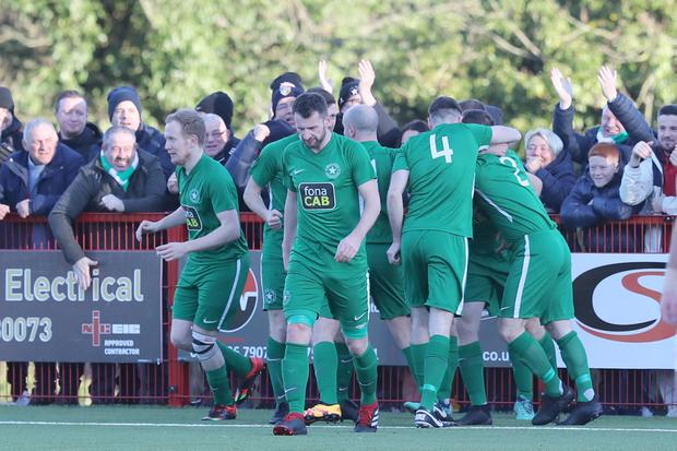 Crumlin Star won last season's Intermediate Cup but now many of their fellow Amateur League clubs could be set to drop down to junior status.