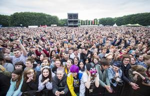 Green Day fans at the Ormeau Embankment, Belfast. Wednesday 28th June 2017 Liam McBurney/RAZORPIX