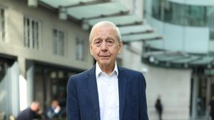 Broadcaster John Humphrys leaves New Broadcasting House after presenting his final Today programme (Yiu Mok/PA)