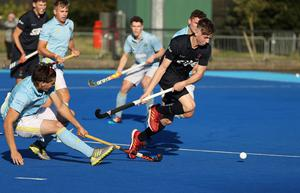 Pacemaker - Belfast -  -19/09/2020.         Mens Irish Senior Cup at Lisnagarvey  LisnagarveyJonny Lynch In today's   game      Photo Desmond Loughery/Pacemaker Press