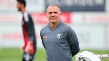 Big move: Mick McDermott chose Glens ahead of coaching with Carlos Queiroz in Colombia