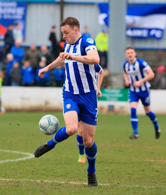 Striving for improvement: Darren McCauley believes Coleraine can use the Challenge Cup clash against Connah's Quay to kick-start their season