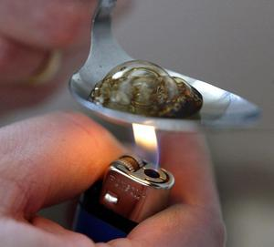 Deadly heroin trade will not be allowed to spread in Northern Ireland, a High Court judge has said. File image