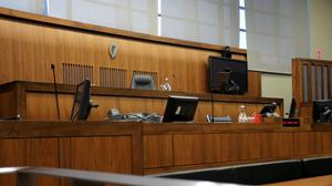 Court room 13 at the CCJ in Dublin (Brian Lawless/PA)