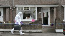 Scene of a shooting at a house in Coleraine