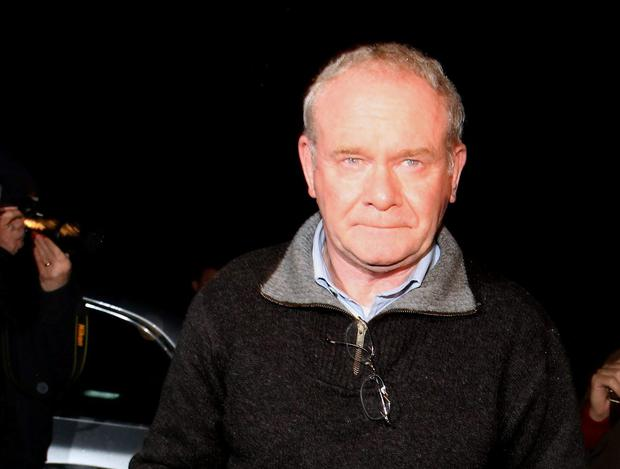 ACCUSATIONS: Deputy First Minister Martin McGuinness