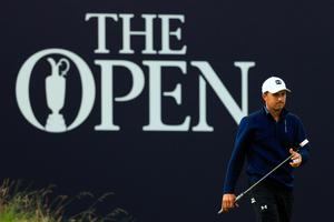 Jordan Spieth went birdie, birdie, eagle from the fifth to the seventh on Friday at The Open.