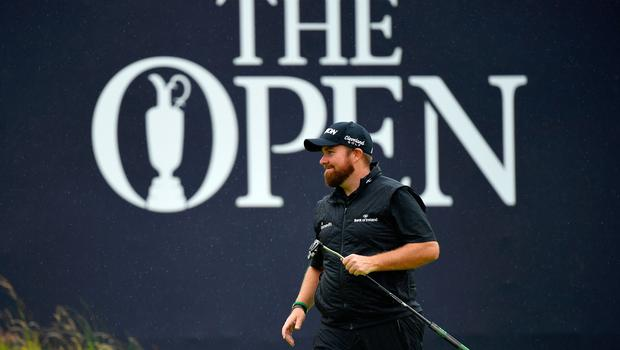 PORTRUSH, NORTHERN IRELAND - JULY 21: Open Champion Shane Lowry of Ireland smiles on the 18th green during the final round of the 148th Open Championship held on the Dunluce Links at Royal Portrush Golf Club on July 21, 2019 in Portrush, United Kingdom. (Photo by Stuart Franklin/Getty Images)