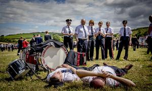 The annual Rossnowlagh Orange Order parade takes place in Co. Donegal on July 6th 2019 (Photo by Kevin Scott / INM)