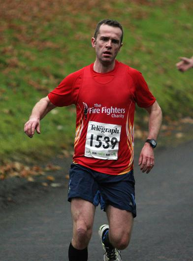 Mandatory Credit - Picture by Freddie Parkinson/Press Eye © Saturday 3rd December 2016 Belfast Telegraph Run Forest Run Loughgall. Loughgall Country Park, 11-14 Main Street, Loughgall, Armagh.  Niall Rankin 10K Scarva