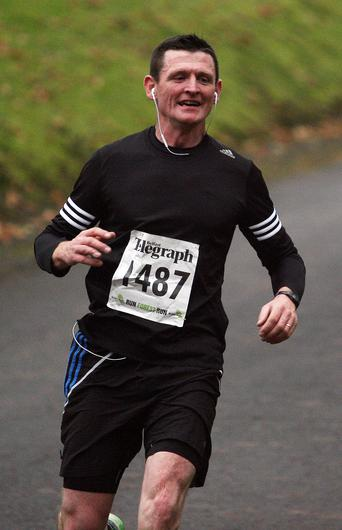 Mandatory Credit - Picture by Freddie Parkinson/Press Eye © Saturday 3rd December 2016 Belfast Telegraph Run Forest Run Loughgall. Loughgall Country Park, 11-14 Main Street, Loughgall, Armagh.  Paul McGirr 10K Omagh