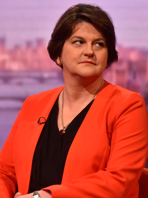 Arlene Foster said she wanted Brexit completed 'sooner rather than later'