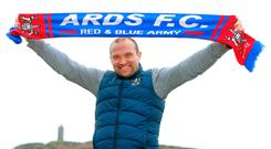 Making his mark: Ards manager Warren Feeney