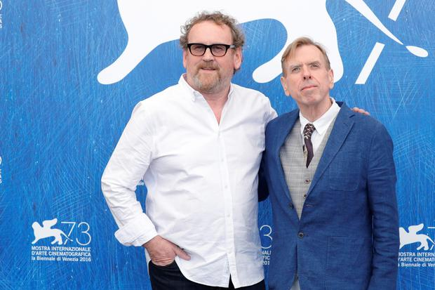 Actor Colm Meaney and actor Timothy Spall attend a photocall for 'The Journey' during the 73rd Venice Film Festival at Palazzo del Casino on September 7, 2016 in Venice, Italy.  (Photo by Andreas Rentz/Getty Images)