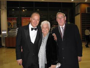 Peter Corry with parents Audrey and Norman