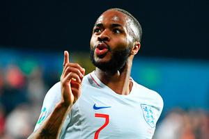 Defiant act: Raheem Sterling hit back at the racial abuse