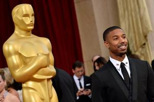 HOLLYWOOD, CA - MARCH 02:  Actor Michael B. Jordan attends the Oscars held at Hollywood & Highland Center on March 2, 2014 in Hollywood, California.  (Photo by Frazer Harrison/Getty Images)