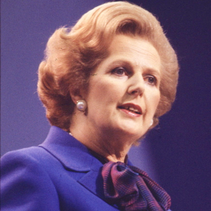 Margaret Thatcher at the Tory Party Conference in Brighton in 1980
