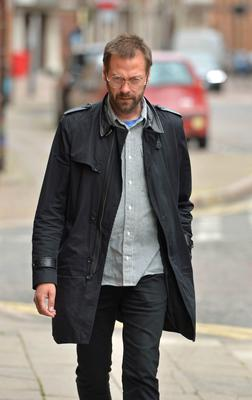 Tom Meighan arrives at Leicester Magistrates' Court (Jacob King/PA)