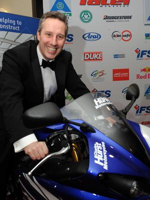 PACEMAKER, BELFAST, 14/1/2011: Ian Paisley Junior pictured at the Adelaide Racer awards at the Ramada hotel  PICTURE BY CHARLES MCQUILLAN