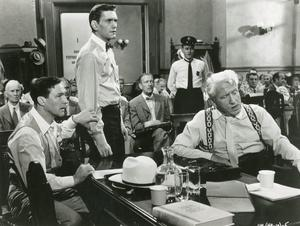 Nostalgic townspeople: classic Hollywood movie, Inherit The Wind