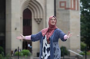 Lauren Booth wants to encourage more Muslims to get involved in the Fringe (Jane Barlow/PA)