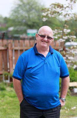 New confidence: Martin Hogan has now been sober for just over three years