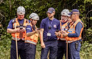 Search and rescue teams in north Belfast search for missing Noah Donohoe on June 24th 2020 (Photo by Kevin Scott for Belfast Telegraph)