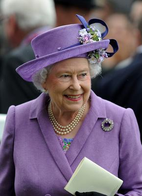 ASCOT, ENGLAND - JUNE 20:  Queen Elizabeth II after winning The Gold Cup  on Ladies' Day during day three of Royal Ascot at Ascot Racecourse on June 20, 2013 in Ascot, England.  (Photo by Charlie Crowhurst/Getty Images for Ascot Racecourse)