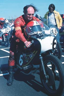 Tony Rutter won seven times at the Isle of Man TT and nine times at the North West 200.