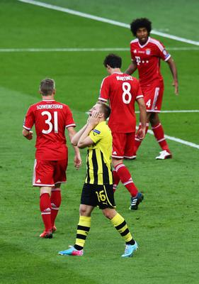 LONDON, ENGLAND - MAY 25:  Jakub Blaszczykowski of Borussia Dortmund reacts during the UEFA Champions League final match between Borussia Dortmund and FC Bayern Muenchen at Wembley Stadium on May 25, 2013 in London, United Kingdom.  (Photo by Martin Rose/Getty Images)