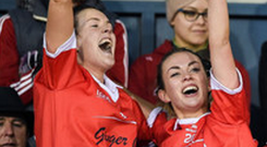 Double coup: Donaghmoyne celebrate their success