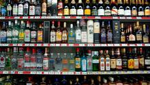 Minimum unit pricing will mean each drink sold in a shop is measured by the grammes of alcohol it contains (stock photo)
